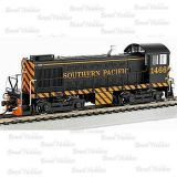 Escala N - Locomotiva Bachmann S4 Southern Pacific  #1466 com DCC - BAC-63152