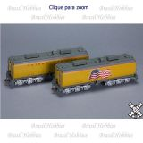 Rivet Counter Union Pacific Steam Excursion Post-2006 Water Tender Set - SXT-30019