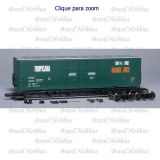 Vagão Scale Trains Evans 5100 RBL Double 8' Plug Door Boxcar Tropicana # 13065 - Kit para Montar - SXT-1015