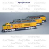 Union Pacific GTEL 8500 Horsepower ''Big Blow'' Turbine #18 DCC e Som ESU de Fábrica ''Modelo Rivet'' - SXT-30009