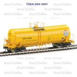 Vagão Walthers 40 Pés Trinity 14000 Gal. Molten Sulfur Thank Car Yellow TILX #135007 - WAL-100045