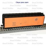 Vagão Accurail 40 Pés Steel Reefer Chicago Great Western #13845- Kit para Montar - ACU-8520