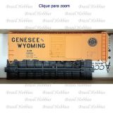 Vagão Accurail 40 Pés AAR Steel Box Car Genesee & Wyoming #100084 - Kit para Montar - ACU-8800 A