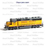 Locomotiva Roundhouse GP50 Phase I Union Pacific #966 Analógica - RND-14873