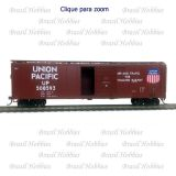 Vagão Roundhouse 50 Pés Single Door Boxcar Union Pacific #508516 - RND-14955