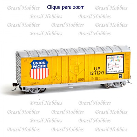 Vagão Roundhouse 40 Pés Grain Box Car UP #127145 - RND-14507  - foto principal 1