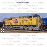 Locomotiva Scale Trains GE Tier 4 GEVO Union Pacific # 2669 com Decoder ESU de Som, Luz e Movimento Instalado de Fabrica - SXT-30556