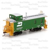 Vagão Roundhouse Cupula Caboose Burlington Northern #11445 - RND-87821