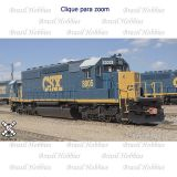 Locomotiva SD40-2 Scale Trains CSX com DCC e Som Loksound #8020  - SXT-10375