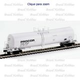Vagão Walthers 54 Pés 23000 Gal. UTLX Funnel-Flow Tank Car Procor #23063 - WAL-100237