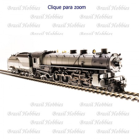 Locomotiva Broadway 4-8-2 Mountain Tender Oleo Union Pacific #7017 com Som, DCC, DC e Fumaça Sincronizada - BLI-5469  - foto principal 1