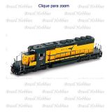 Locomotiva Athearn SD40-2 Chicago North Western #6910 Pronto para DCC - ATH-98275