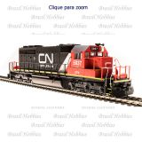 Locomotiva Broadway EMD SD40-2 Canadian National Paragon 3 #6106 c/ Som, DC e DCC - BLI-5366