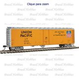Vagão 50 Pés PCF Insulated Boxcar Union Pacific #499002 - WAL-2825