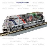 Escala N - Locomotiva Kato SD70ACe UP Spirit of Union Pacific #1943 - c/ Som e DCC ESU Instalado de Fabrica - KAT-1761943LS