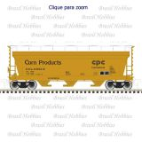 Escala N - Vagão Atlas ACF 3560 Covered Hopper Corn Products #80016 - ATL-50004017