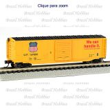 Escala N - Vagão Bachmann 50 Pés Sliding Door Box Car Union Pacific #169880 - BAC-19455