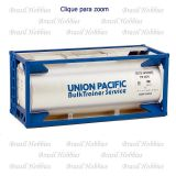 Container Tanque 20 Pés Union Pacific - Kit para Montar - WAL-8110
