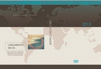 DVD´s Escola do Clamor 2013