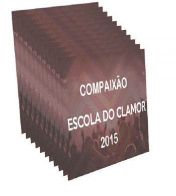 Kit DVD`s Escola  Clamor 2015 (14 DVDs)