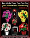 Tora Colorful Flower Vases from Tube  - foto 1