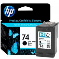 Cartucho HP Original 74 preto CB335WB 4,5ml