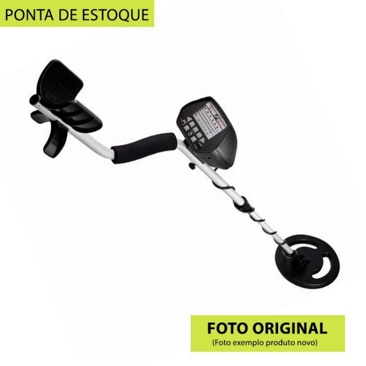 PONTA DE ESTOQUE - Detector de Metal / Ouro Elite Edition 1020 Explorer Digital