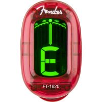 AFINADOR FENDER CALIFORNIA SERIES CLIP-ON TUNER - CANDY APPLE RED
