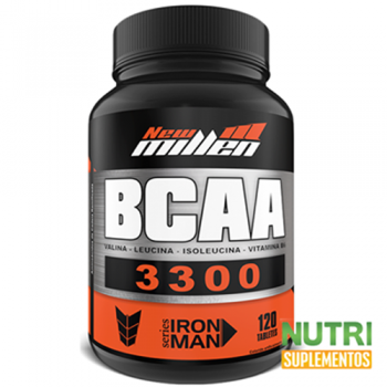 BCAA 3300 1500mg 120 tabletes  - New Millen