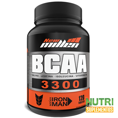 BCAA 3300 1500mg 120 tabletes  - New Millen  - foto principal 4