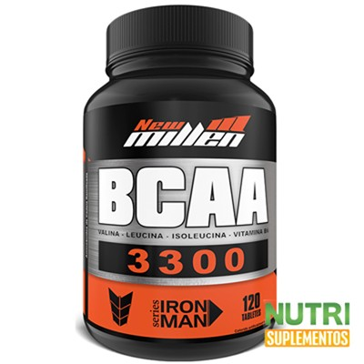 BCAA 3300 1500mg 120 tabletes  - New Millen  - foto principal 3