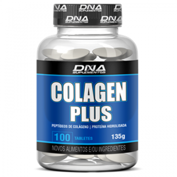 Colagen Plus - Colágeno  1000mg 100 TABLETS -  DNA
