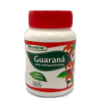 Guaraná Tradicional 500mg 150 COMP - Prolev