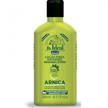 Loção de Arnica para Massagem Muscular  240ml - Ideal