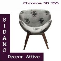 Poltronas decorativas Sidamo Chronos SD 455