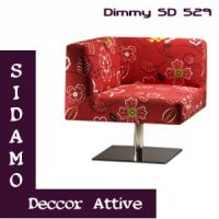 Poltronas decorativas Sidamo Dimmy SD 529
