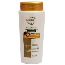 Leave In Lacan Argan Oil - Creme de Pentear 300ml