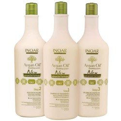 Kit  Progressiva sem Formol Argan Oil Inoar 3 X 1000ml