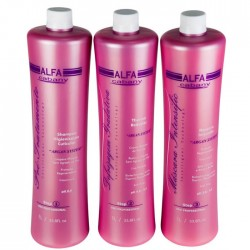Escova Progressiva Alfa Cabany kit 3 X 1000ml