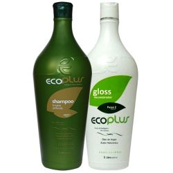 Escova Progressiva Ecoplus kit 2 X 1000ml