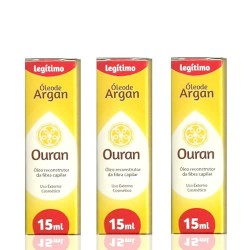 Argan Oil Ouran 15ml cx com 3