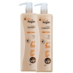 New Vip Ojon & Argan Kit Shampoo + Condicionador 1000ml Pós Progressiva