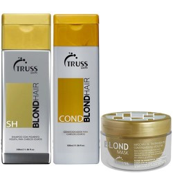 Truss Kit Shampoo + Condicionador + Máscara Blond Mask