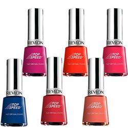 Revlon Esmalte Top Speed  Kit com 6 esmaltes - 06 Cores
