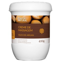 Dagua Natural Creme de massagem óleo de Argan 650g