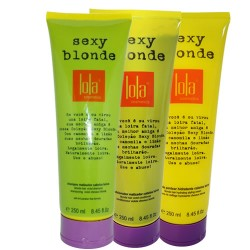 Lola Sexy Blonde Kit Shampoo + Cond + Leave-in