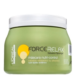 Loreal Profissional Force Relax Máscara Nutri Control - 500g  - foto principal 1