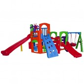 Playground Multiplay House com Kit Fly - Freso