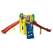 Playground Royal Play com 2 Escorregadores - Freso