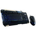 Kit Teclado e Mouse Gaming Gear Commander Thermaltake